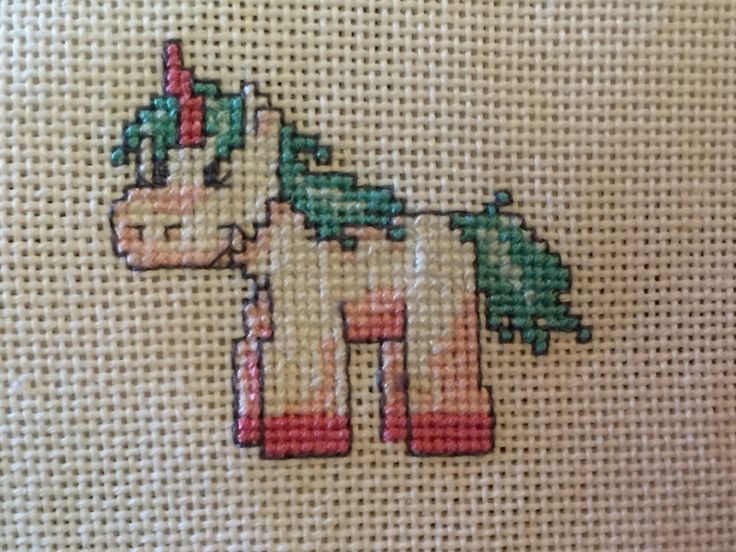 #unicorn #crossstitch #handmade #diy