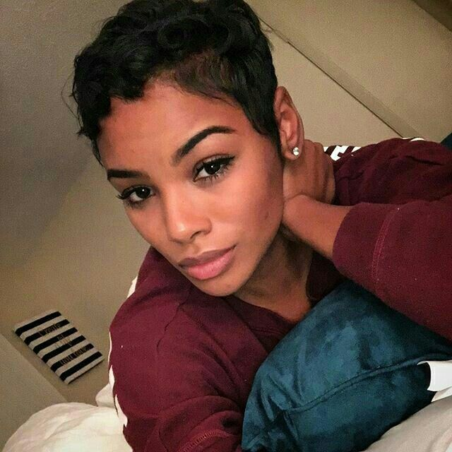 Awesome The 19 Best Images About Relaxed Hair On Pinterest Shaggy Pixie Short Hairstyles For Black Women Fulllsitofus