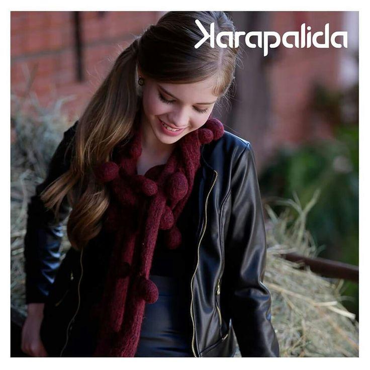 Em clima de despedida, o nosso inverno é cheio de glamour!  #couro #karapalida #inverno2015