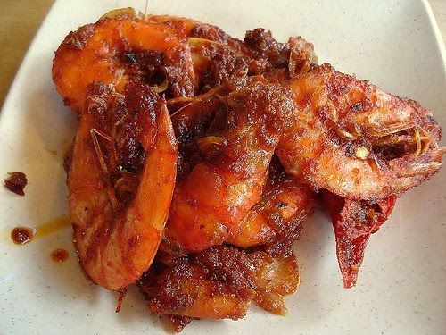 Spicy Shrimp Recipe (Sambal Udang) ~ Singapore Food | Recipes