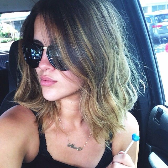 Nicole Guerrieros new shorter hair