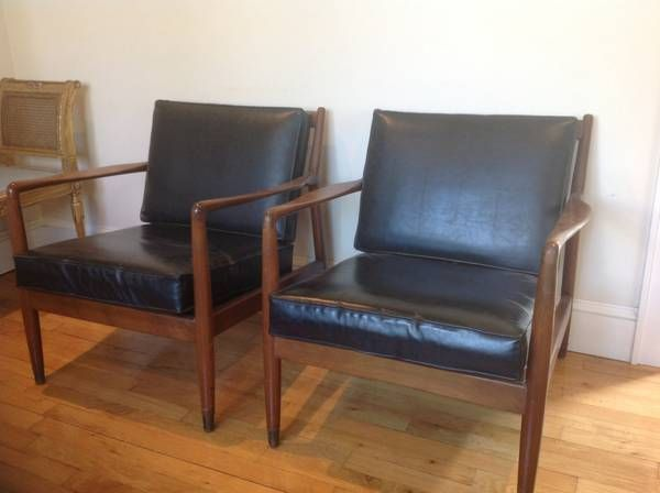 Mid century chair set (rare set) Scandinavian - $1400 (Long Island)