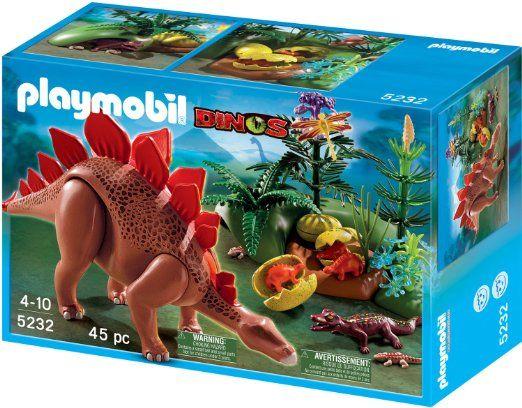 Playmobil dinos stegosaurus toys games - Dinosaur playmobile ...