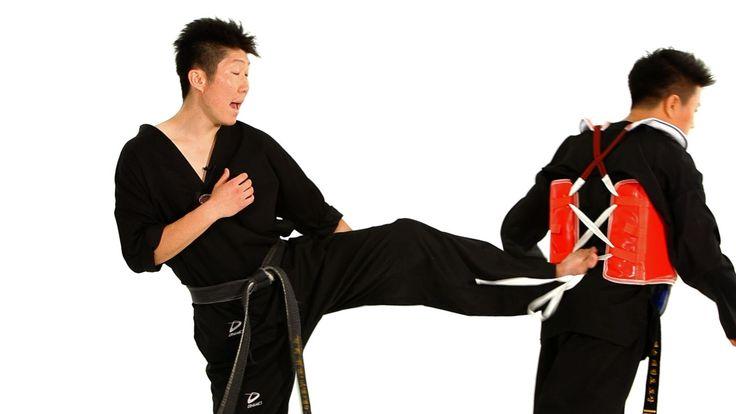 Watch more How to Do Taekwondo videos: http://www.howcast.com/videos/508755-How-to-Do-Sidestep-Technique-1-Taekwondo-Training Learn how to do the taekwondo d...
