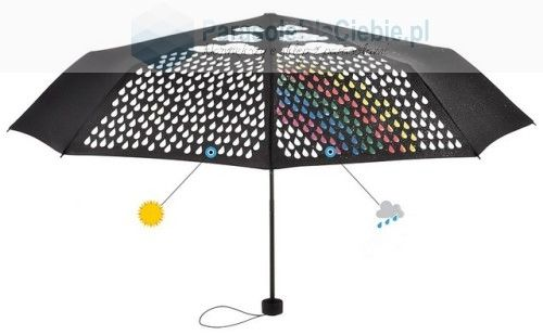 Parasol marki Fare zmieniający kolor