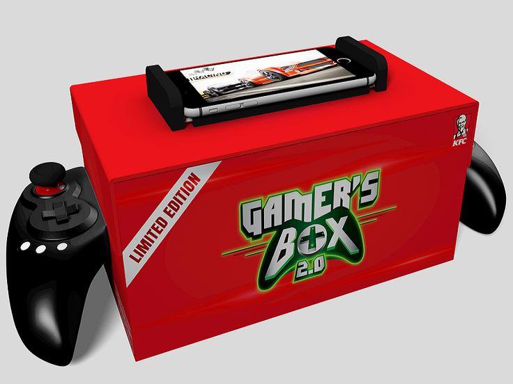 Gamers Box 2.0 de KFC, la última frikada de la cadena de restaurantes