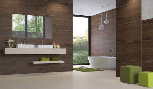 Bathroom porcelain stoneware wall tile: wood look - WOOD - ArchiExpo