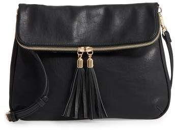 89c5cd66c6 Classic and sexy little crossbody bag. BP. Foldover Crossbody Bag ...
