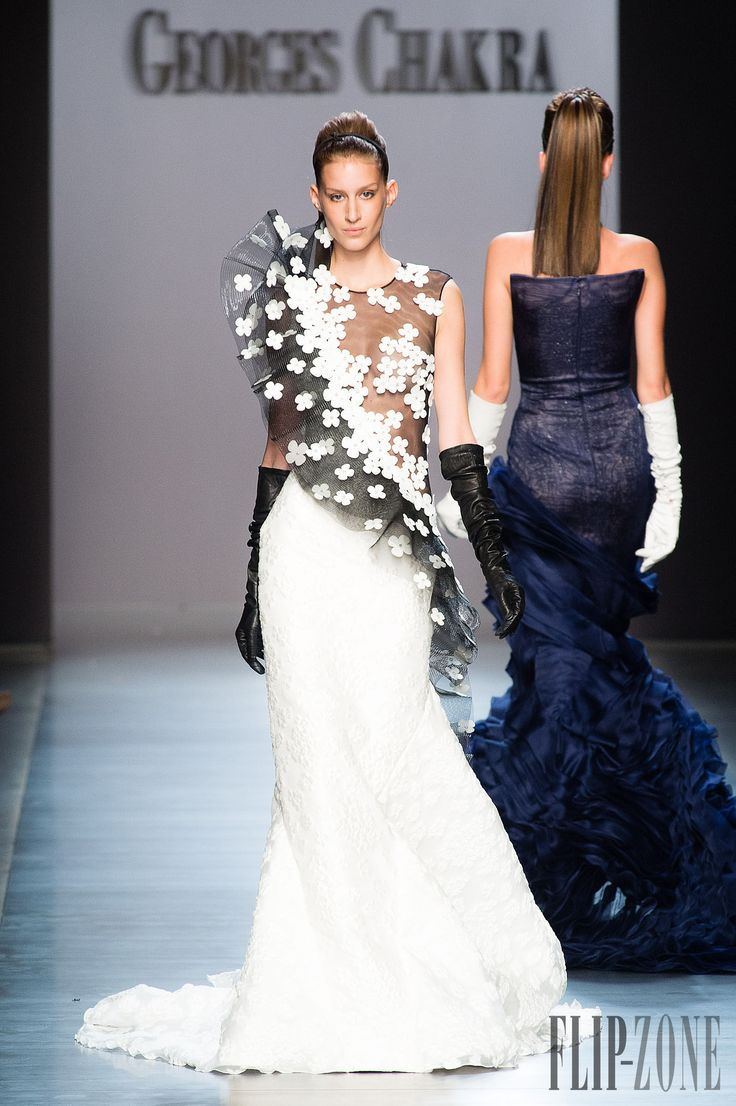 Georges Chakra Sonbahar-Kış 2014-2015 - Couture - http://tr.flip-zone.com/fashion/couture-1/fashion-houses/georges-chakra-4814