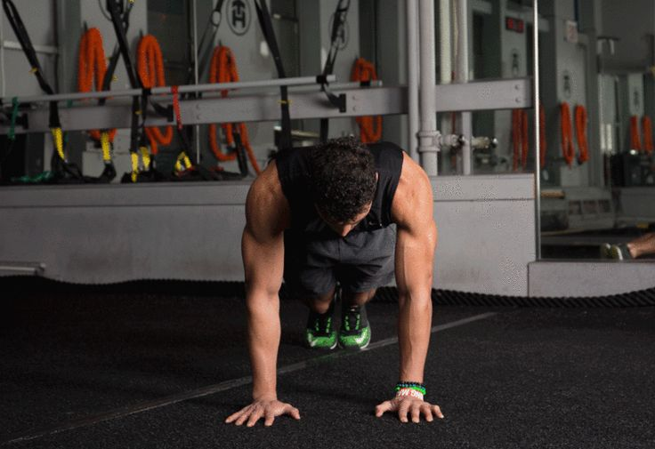 4. Plank Jack #abs #workout #exercises http://greatist.com/move/abs-workout-unexpected-moves-that-work-better-than-crunches