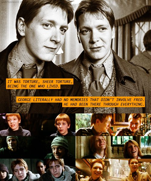 Image result for george and fred weasley patronus