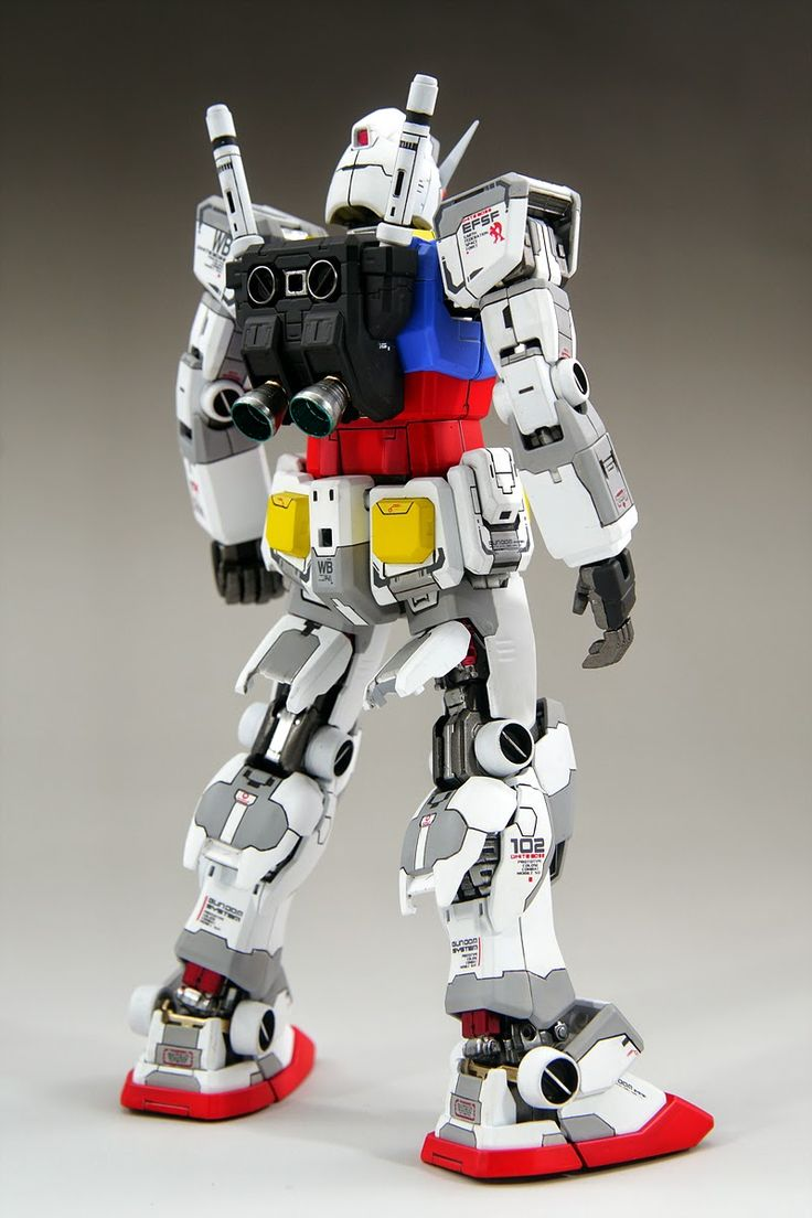 GUNDAM GUY: MG 1/100 RX-78-2 Gundam - Customized Build