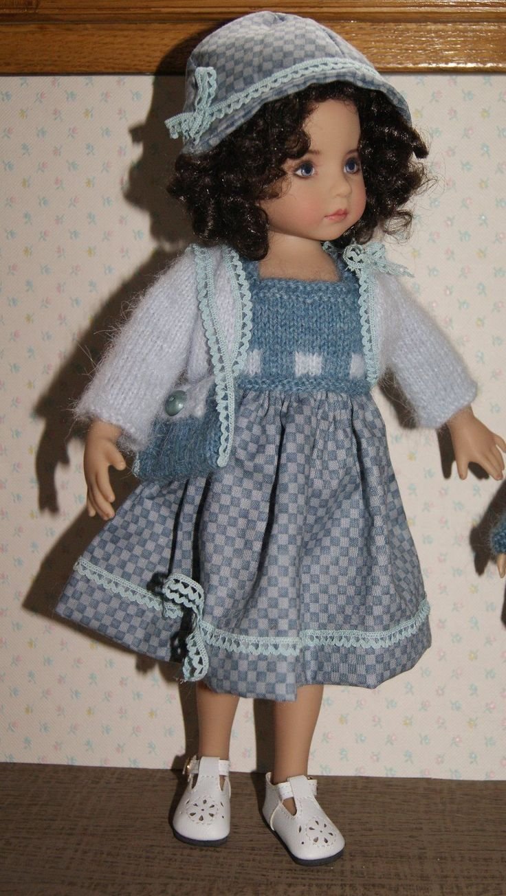 V tement pour poup e de collection little darling fait main mod le unique ebay dolls knit - Exemple d album photo fait main ...