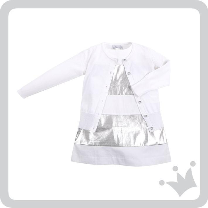 Vestido recomendado del día para las princesas de la casa es blanco con plata, refleja pureza y ternura. ¿Qué opinan? http://www.shopepk.com.co/index.php?page=shop.product_details&flypage=flypage_look.tpl&product_id=734&category_id=168&option=com_virtuemart&cat=6&Itemid=69
