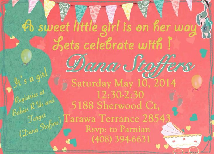 Baby Shower Invitations On Pinterest was nice invitations example