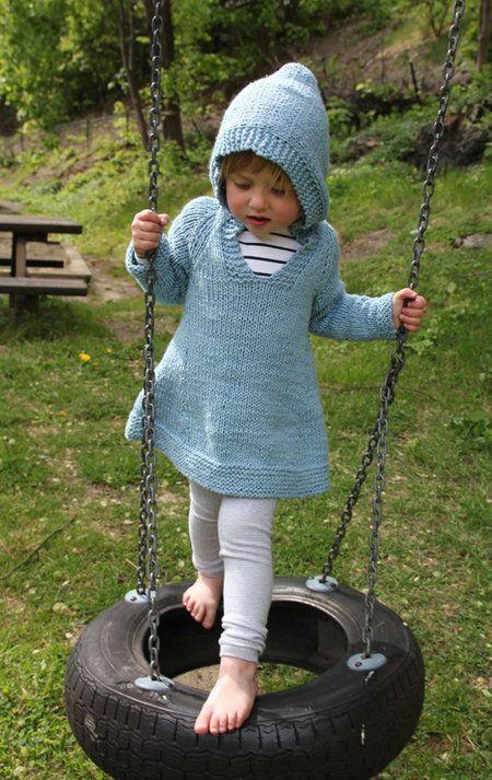 Pickles - Plain girlie hoodie - 1 (2-3) 4-5 (6-7) 8-9 years