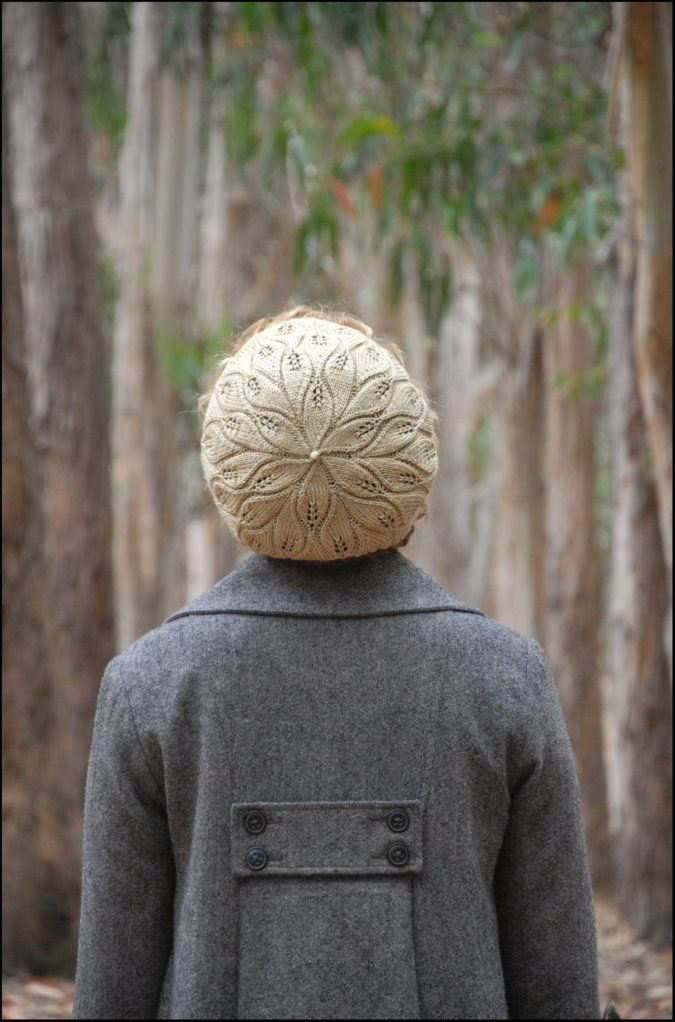 coastal knits - never not knitting. The rustling leaves beret PDF is $6. I may need to buy this STAT
