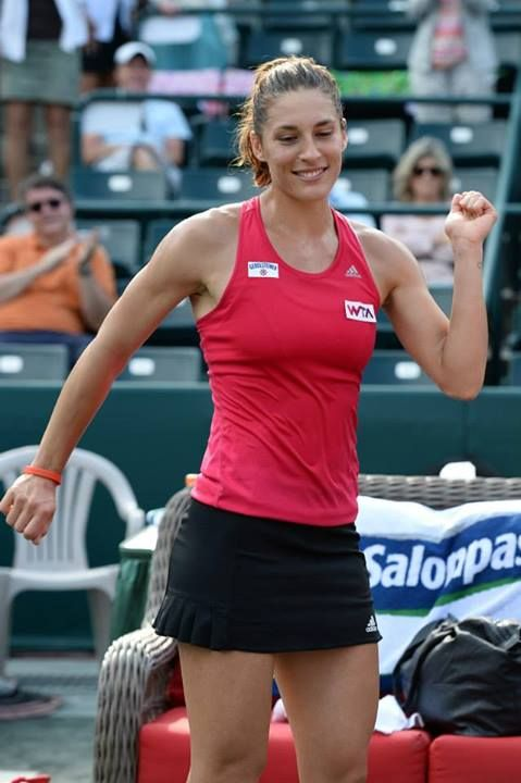 Andrea Petkovic in her third round Match at the Family Circle Cup - Thursday, April 3rd 2014 (Day Session) #WTA #Petkovic #FCC2014