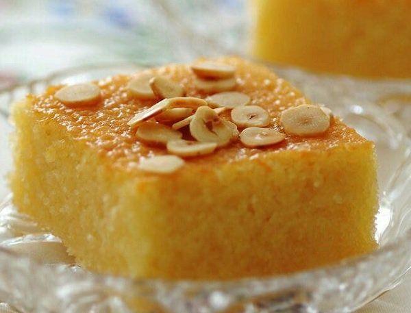 طريقة عمل هريسة جوز الهند بالسميد طريقة Recipe Food Desserts Fruit