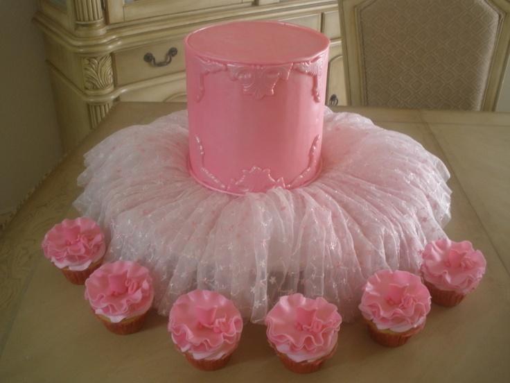Balerina Tutu Cupcakes Cake Cake Cupcake Cakes Cupcakes