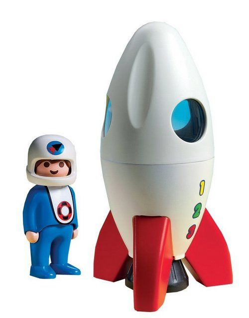 Your toddlers will love this Playmobile rocket ship!