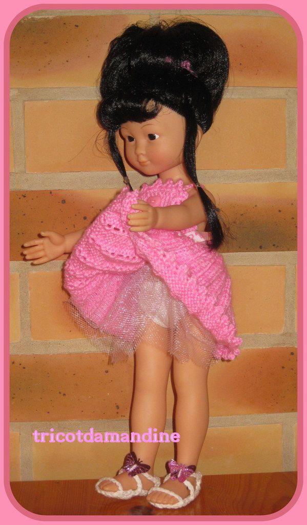 une jolie robe pour Chidori  tuto : http://tricotdamandine.over-blog.com/2015/09/chidori-et-sa-belle-robe.html