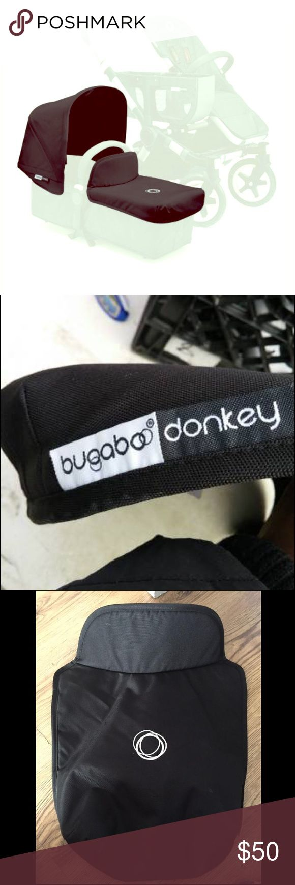 Bugaboo Donkey Apron black Bugaboo Donkey apron, black. This listing is for the apron only (no sun canopy). Used but excellent condition. bugaboo Accessories