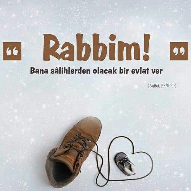 """""""Rabbim!"""" Bana sâlihlerden olacak bir evlat ver.  #salih #evlat #rabbim #ayet #saffat #suresi #ayetler #hayırlı #dua #amin #ilmisuffa"""