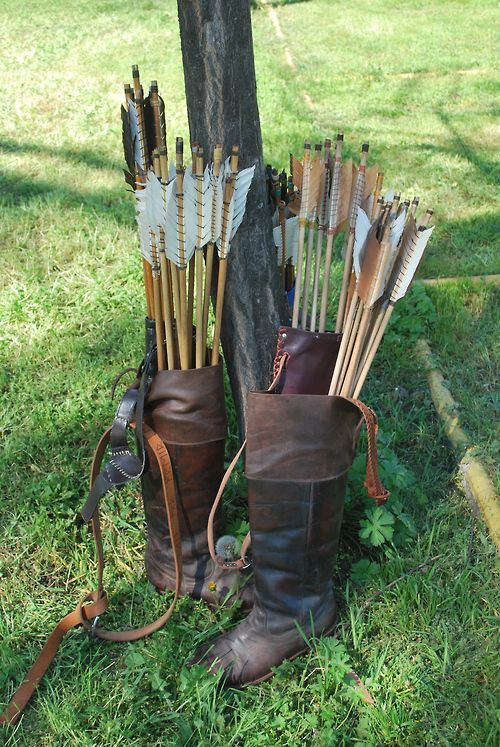 Boot Quivers Lol Archery Tips Archery Quiver Mounted