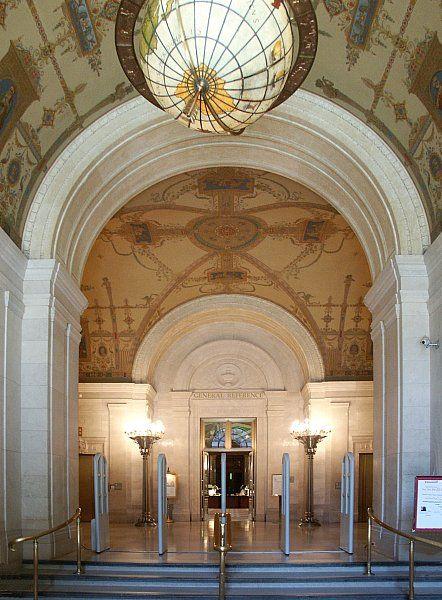 cleveland public library interior - Google Search