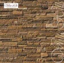 235-40 Искусственный камень White Hills Каскад Рейндж коричнево-болотный плоскостной Без шва