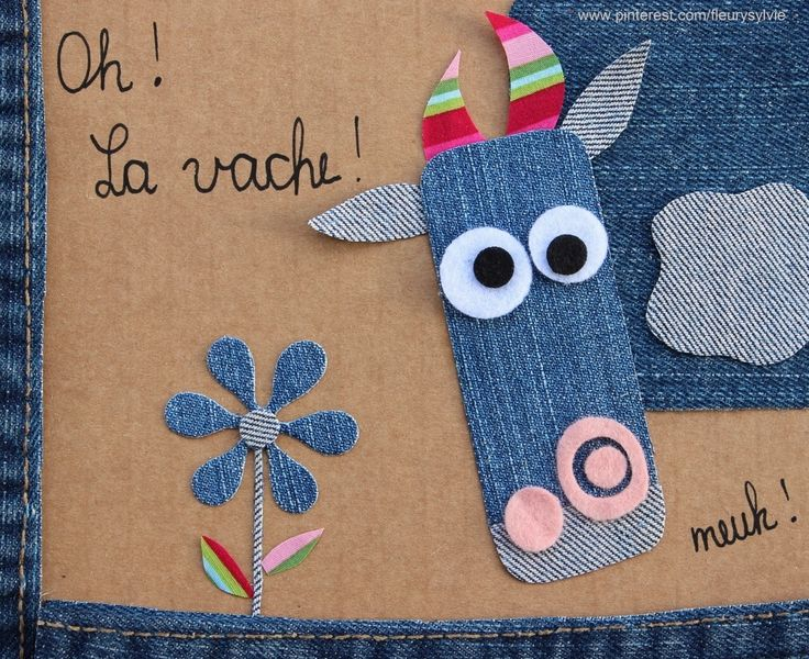 Oh....la vache!! #jeans #recycle