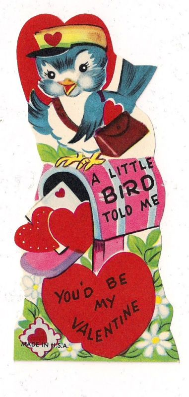 A Little Bird Told Me You'd Be My Valentine