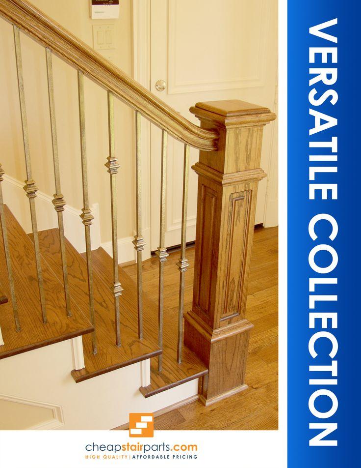 38 best Versatile Modern Iron Baluster Stair Patterns ...