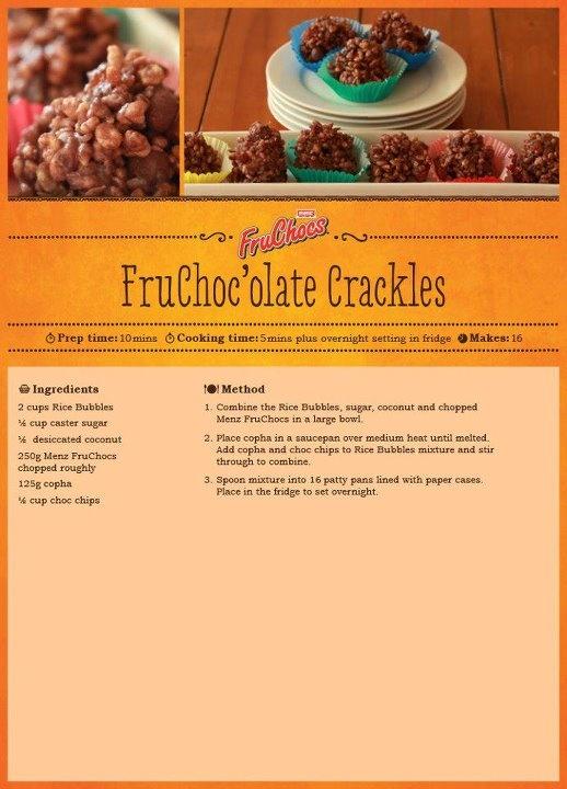 FruChoc'olate Crackles