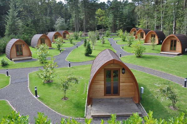 Falcon forest glamping north east england north yorkshire medium