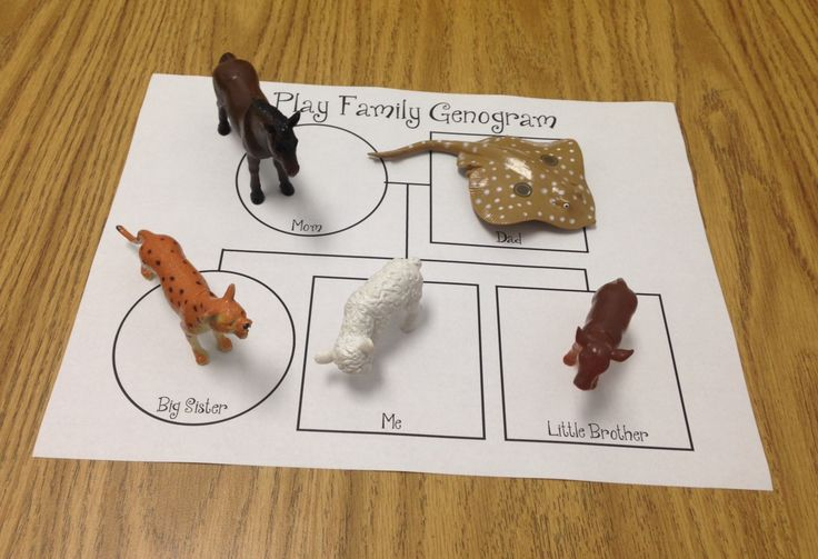 Creative Clinical Social Worker--Play Therapy Genogram