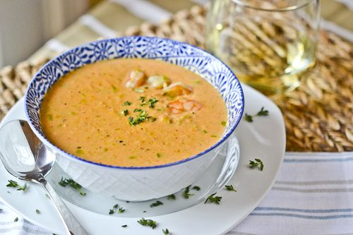 Ina Garten's Shrimp Bisque