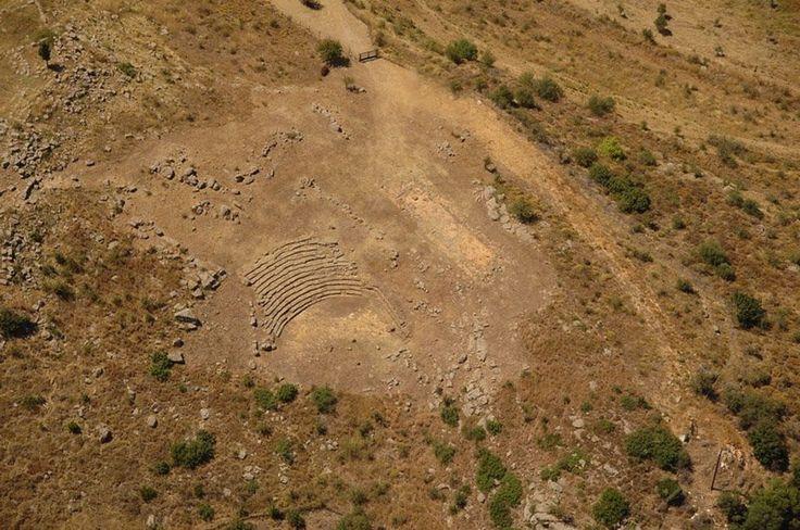 Αρχαίο θέατρο Μακύνειας - Ancient Makyneia Theatre