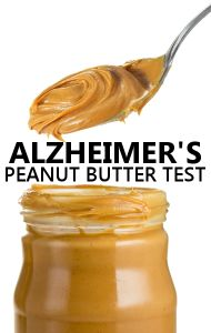 Dr Oz says a lack of ability to smell peanut butter is a an early warning sign of Alzheimer's Disease, so try his test to see if you are at risk. http://www.drozfans.com/dr-oz-general-health/dr-oz-alzheimers-peanut-butter-smell-test-strep-throat-signs/