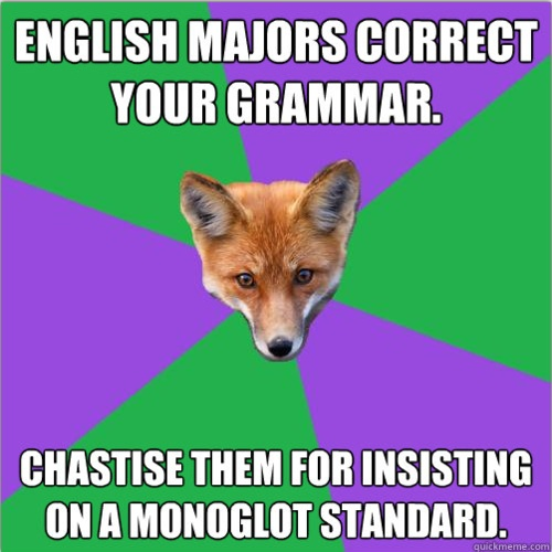 What should English majors know?