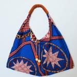 Free pattern: Wax print hobo bag