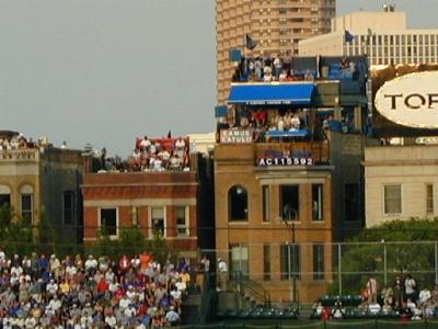 Wrigleyville rooftop - Chicago Cubs