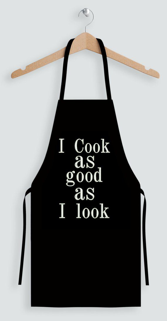 Whats Cookin Good Lookin kitchen decor present Handmade in the USA housewarming gift Apron