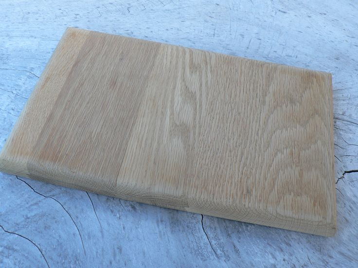 Summer salads deserve to be prepared on a reclaimed Oak chopping board. Also makes a great tapas of cheese board! Ayke & WhatNot