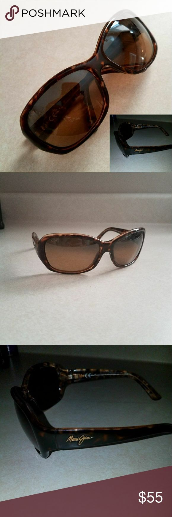 Maui Jim Sunglasses Good condition. Some minor imperfections on frame (shown in pictures Maui Jim Accessories Glasses
