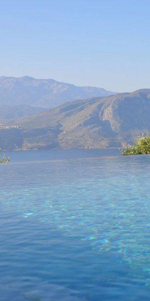 Panorama Villa in  Loutraki, Chania, Crete