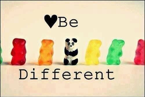 ~ Be Different ~