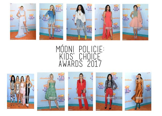 What I think about Kids' Choice Awards outfits? You can read it in this article! If you don't understand czech, please use the translatoe on the right side. Thank you♥