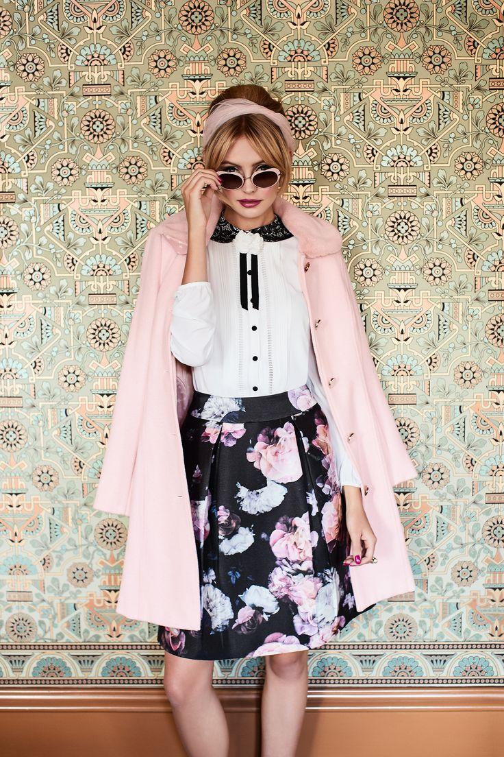 Nightfall Floral Skirt | True Bliss Top  | Stables Coat
